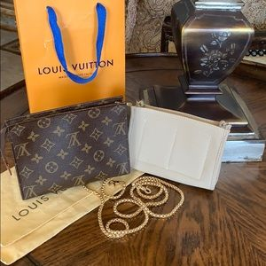 Louis Vuitton Toiletries 19 plus Crossbody Chain